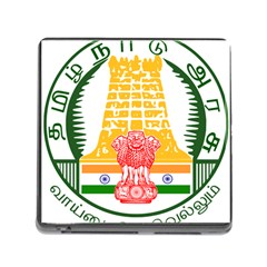 Seal Of Indian State Of Tamil Nadu  Memory Card Reader (square) by abbeyz71
