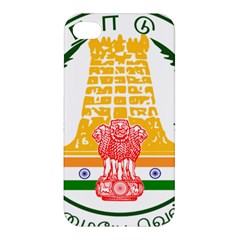 Seal Of Indian State Of Tamil Nadu  Apple Iphone 4/4s Premium Hardshell Case by abbeyz71