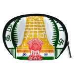Seal of Indian State of Tamil Nadu  Accessory Pouches (Medium)  Back