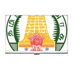 Seal Of Indian State Of Tamil Nadu  Business Card Holders