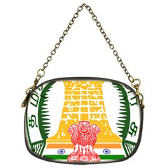 Seal Of Indian State Of Tamil Nadu  Chain Purses (one Side)  by abbeyz71