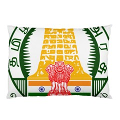 Seal Of Indian State Of Tamil Nadu  Pillow Case by abbeyz71