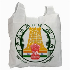 Seal Of Indian State Of Tamil Nadu  Recycle Bag (one Side) by abbeyz71