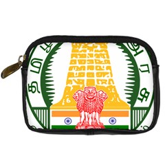 Seal Of Indian State Of Tamil Nadu  Digital Camera Cases by abbeyz71