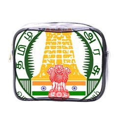 Seal Of Indian State Of Tamil Nadu  Mini Toiletries Bags by abbeyz71