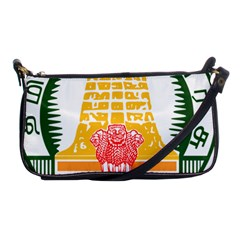 Seal Of Indian State Of Tamil Nadu  Shoulder Clutch Bags by abbeyz71