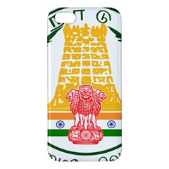 Seal Of Indian State Of Tamil Nadu  Apple Iphone 5 Premium Hardshell Case by abbeyz71