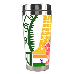 Seal Of Indian State Of Tamil Nadu  Stainless Steel Travel Tumblers by abbeyz71
