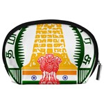 Seal of Indian State of Tamil Nadu  Accessory Pouches (Large)  Back