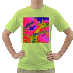 Sky Pattern Green T Shirt