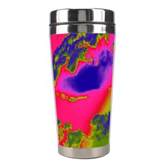 Sky Pattern Stainless Steel Travel Tumblers by Valentinaart
