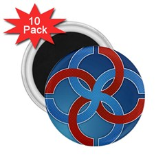 Svadebnik Symbol Slave Patterns 2 25  Magnets (10 Pack)  by Nexatart