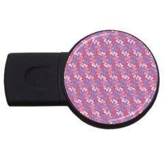 Pattern Abstract Squiggles Gliftex Usb Flash Drive Round (2 Gb)