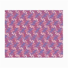 Pattern Abstract Squiggles Gliftex Small Glasses Cloth