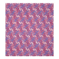 Pattern Abstract Squiggles Gliftex Shower Curtain 66  X 72  (large)  by Nexatart