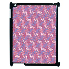 Pattern Abstract Squiggles Gliftex Apple Ipad 2 Case (black) by Nexatart