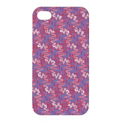 Pattern Abstract Squiggles Gliftex Apple Iphone 4/4s Hardshell Case by Nexatart
