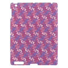 Pattern Abstract Squiggles Gliftex Apple Ipad 3/4 Hardshell Case