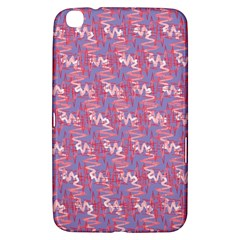 Pattern Abstract Squiggles Gliftex Samsung Galaxy Tab 3 (8 ) T3100 Hardshell Case  by Nexatart