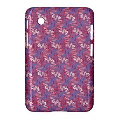 Pattern Abstract Squiggles Gliftex Samsung Galaxy Tab 2 (7 ) P3100 Hardshell Case  by Nexatart