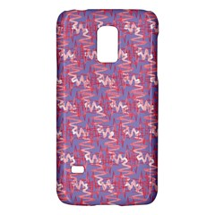 Pattern Abstract Squiggles Gliftex Galaxy S5 Mini by Nexatart