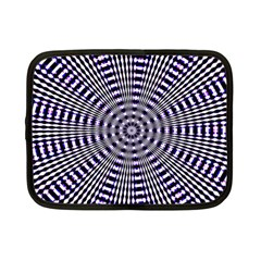 Pattern Stripes Background Netbook Case (small)  by Nexatart
