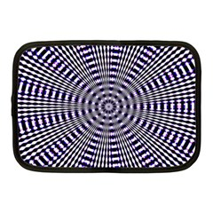 Pattern Stripes Background Netbook Case (medium)  by Nexatart