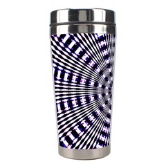 Pattern Stripes Background Stainless Steel Travel Tumblers