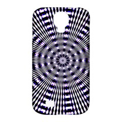 Pattern Stripes Background Samsung Galaxy S4 Classic Hardshell Case (pc+silicone) by Nexatart