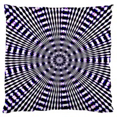 Pattern Stripes Background Standard Flano Cushion Case (two Sides) by Nexatart