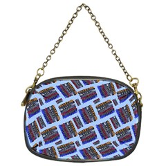 Abstract Pattern Seamless Artwork Chain Purses (two Sides)