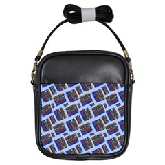 Abstract Pattern Seamless Artwork Girls Sling Bags by Nexatart