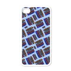 Abstract Pattern Seamless Artwork Apple Iphone 4 Case (white) by Nexatart