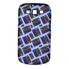 Abstract Pattern Seamless Artwork Samsung Galaxy S Iii Classic Hardshell Case (pc+silicone)