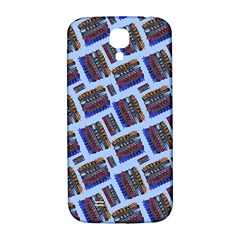 Abstract Pattern Seamless Artwork Samsung Galaxy S4 I9500/i9505  Hardshell Back Case by Nexatart