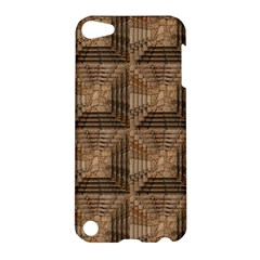 Collage Stone Wall Texture Apple Ipod Touch 5 Hardshell Case by Nexatart