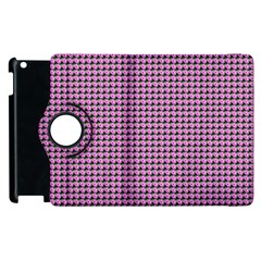 Pattern Grid Background Apple Ipad 2 Flip 360 Case by Nexatart