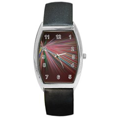 Background Vector Backgrounds Vector Barrel Style Metal Watch by Nexatart