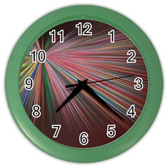 Background Vector Backgrounds Vector Color Wall Clocks by Nexatart