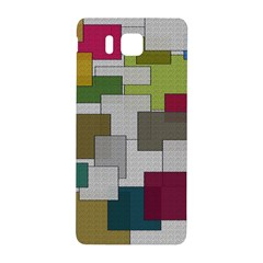 Decor Painting Design Texture Samsung Galaxy Alpha Hardshell Back Case by Nexatart