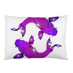 Koi Carp Fish Water Japanese Pond Pillow Case (two Sides)