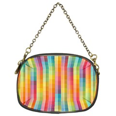 Background Colorful Abstract Chain Purses (two Sides)  by Nexatart