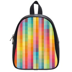 Background Colorful Abstract School Bags (small)  by Nexatart