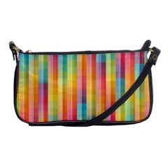 Background Colorful Abstract Shoulder Clutch Bags by Nexatart