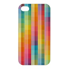 Background Colorful Abstract Apple Iphone 4/4s Premium Hardshell Case by Nexatart