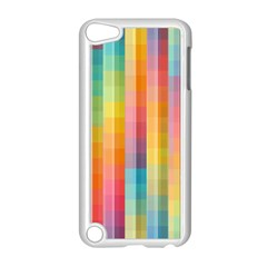 Background Colorful Abstract Apple Ipod Touch 5 Case (white) by Nexatart