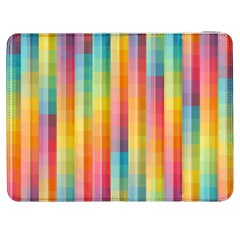 Background Colorful Abstract Samsung Galaxy Tab 7  P1000 Flip Case by Nexatart