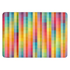 Background Colorful Abstract Samsung Galaxy Tab 8 9  P7300 Flip Case by Nexatart