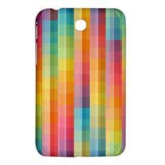Background Colorful Abstract Samsung Galaxy Tab 3 (7 ) P3200 Hardshell Case