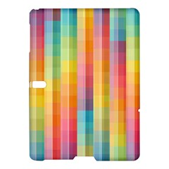 Background Colorful Abstract Samsung Galaxy Tab S (10 5 ) Hardshell Case  by Nexatart
